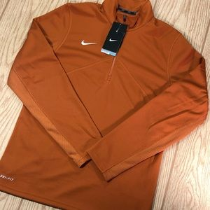 Men's Nike Dri Fit Long Sleeve 1/4 Zip Pullover S
